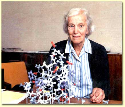 Dorothy-Hodgkin. Fuente: www.divulgades.es