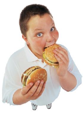 Niño con obesidad, factor de riesgo. Fuente: www.sumedico.com
